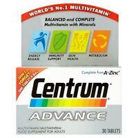 Centrum Advance MultiVitamin 30 Tablets