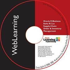 Oracle EBS Scm R12.x: inventario y guía de capacitación de Administración de pedidos – 1Z0-226