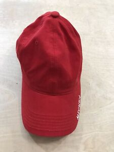 Boys Girls Disney Red Mickey Mouse Embroidery Detail Ball Cap Hat .. adjustable