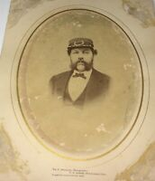 Rare Antique Occupational American Sea Captain! New London, CT Cabinet Photo! US