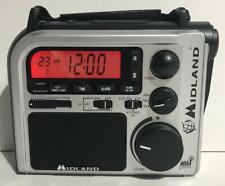 Midland ER102 Emergency Survival Radio Crank Power Weather Alert AM/FM Multiuse