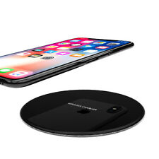R-JUST Fast Wireless Charger QI 15W For iPhone X 8 Plus Samsung S6/7/8/9+ Black
