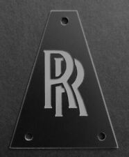 Engraved Etched GUITAR TRUSS ROD COVER JACKSON - Randy Rhoads RR BLACK SILVER