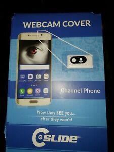 SMART PHONE Web Cam Cover -  Stops webcam hacking!  By C-SLIDE