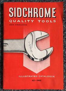 Vintage 1968 Sidchrome Quality Tools & Padlocks Illustrated Catalogue