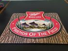 Vintage Miller High Life Friends of the Field  Tin Sign Man Cave 2001 22 x 18