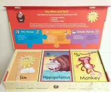 First Words Puzzle Set- for early childhood development By Spice Box