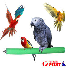 Colorful Pet Bird Parrot Chew Toys Paw Grinding Cage Stand Perches Budgie 15cm
