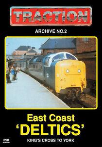 Traction Archive No.2: East Coast Deltics - DVD