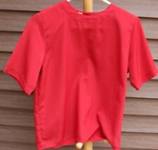 Woman's Red Blouse by Worthington Petite; Size:  XS