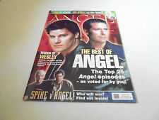 MARCH/APRIL 2005 #8 ANGEL vintage tv show magazine (COVER A)