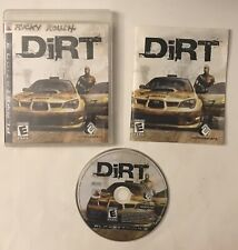 Dirt (Sony Playstation 3, 2007) PS3 Video Game COMPLETE