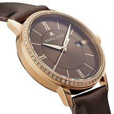Maurice Lacroix Eliros Date Diamonds Damenuhr mit 60 Diamanten  EL1094-PVPD1-710