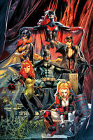 DETECTIVE COMICS #1000 ANACLETO VIRGIN VARIANT NM BATMAN JOKER HARLEY CATWOMAN