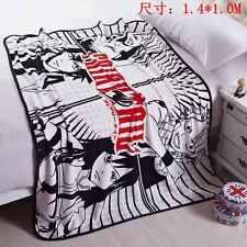 "FAIRY TAIL/MAKO Child  coral fleece throw blanket blankets quilt 55X43"""
