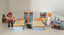Retired Playmobil 4284 Master Bedroom from 2009 Suburban House With Extras