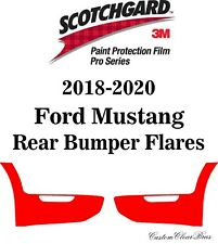 3M Scotchgard Paint Protection Film Pro Series Clear 2018 2019 2020 Ford Mustang