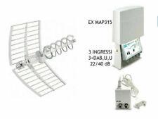Fracarro MAP EVO Amplificatore da Palo MAP4r3UU LTE+ - Bianco
