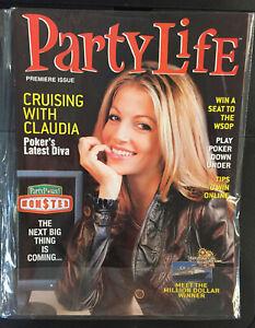 Party Life Poker Magazine Summer 2006 Claudia DiFalco Premiere Issue WSOP PPA