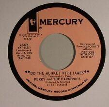 "PERRY & THE HARMONICS - Do The Monkey With James - Vinyl (7"")"