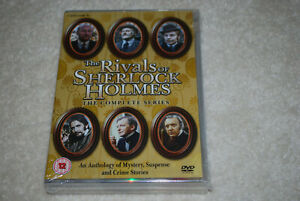 The Rivals of Sherlock Holmes Network Complete Series - Derek Doctor Who Jacobi
