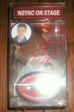 JC Chasez Nsync On Stage autographed  Vintage 90s Pop Culture Beanie Baby