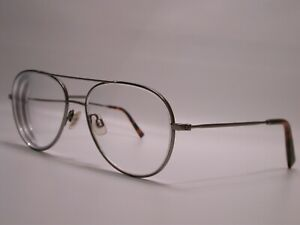 Warby Parker Silver Aviator Metal York Classic Frames Eyeglasses