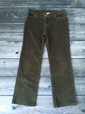 Women's COLUMBIA Corduroy Pants Size 10 Green / Casual