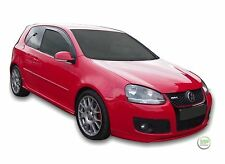 VW GOLF 5 mk5 GTI 3 DOOR 2004-2009 SET OF FRONT WIND DEFLECTORS 2pc HEKO TINTED