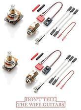 2 EMG Pots Upgraded EXG Guitar Expander & SPC Control Pot Strat Presence Control
