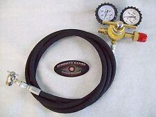 Nitrogen Regulator Kit Air Shock Fill Kit High Pressure Rubber 800 PSI Fox King