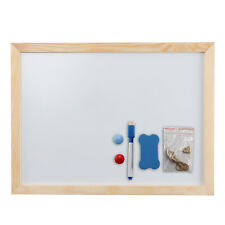 Magnetic Whiteboard Plain A3 Dry Wipe Notice Office School Home Planner Magnet