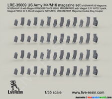 Live Resin 1/35 US M4/16 Magazine Set LRE35009