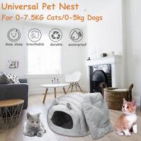 Warm Haustier Hund Haus Kennel Soft Bett Höhle Katze Bett Nest Hundekorb