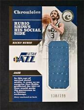 2017-18 Chronicles Swatches #CS-RRB Ricky Rubio /199