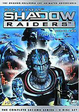 Shadow Raiders - Season 2 (DVD, 2005, 2-Disc Set) Uk Region 2