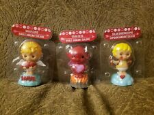 Solar Powered 2 CUPID and 1 DEVIL - Set Of 3 Valentine's Day Dancing Toy Sun