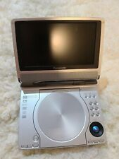 Panasonic Dvd-Ls50 Portable Dvd/Cd Player, Padded Case and Accessories-PreOwned