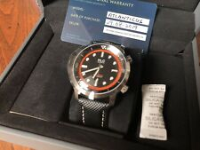 Richardlegrand Atlanticus Black/orange Compressor Dive Watch *new* Taucheruhr