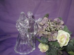 Crystal clear Bride and Groom Topper GA-A-9