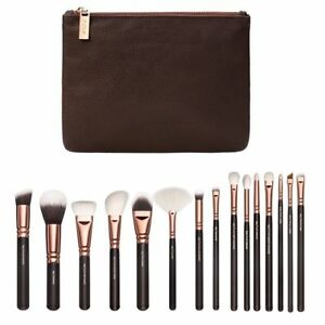 15Pcs Foundation Make Up Brush Set With Zipper Bag Makeup Brushes Cosmetics Kits