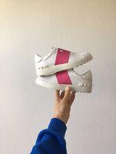 Valentino Open Sneaker 36,5 Neu Pink Weiß