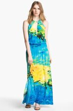 Tracy Reese Print Silk Maxi Dress (Size L)