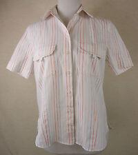 Gestreifte Gerry Weber Kurzarm Damenblusen, - tops & -shirts