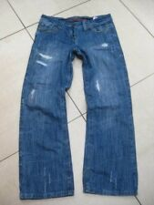 Size UK 12 R LADIES womens NEXT BOYFRIEND JEANS loose fit slouch distressed