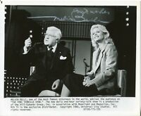 Melvin Belli King Of Torts Lawyer Jack Ruby Attorney Rare Signed Autograph Photo