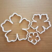 Flower Petal Plant Garden Shape Cookie Cutter Dough Biscuit Pastry Fondant Sharp