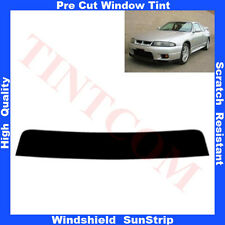 Pre Cut Window Tint Sunstrip for Nissan Skyline 2Doors Coupe 1995-1997 Any Shade