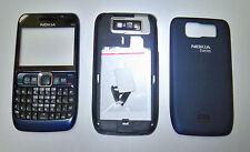 Blue housing cover fascia facia faceplate case for Nokia E63 -000988