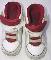Nike Air Jordan Flight 705893-102 Red White Toddler Boy Size 8C